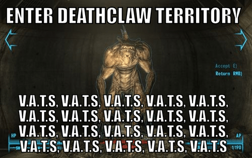 deathclaw fallout V-A-T-S - 7374007296