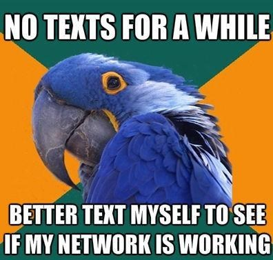 network no texts