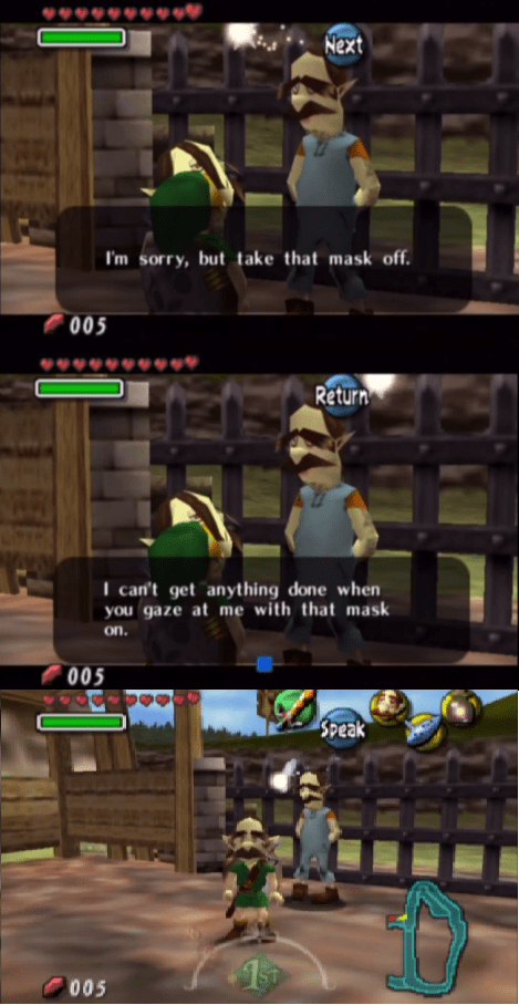 trolling video games majoras mask zelda - 7374093568