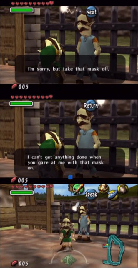 trolling,video games,majoras mask,zelda