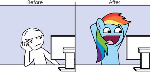 When I find Pony stuff online...