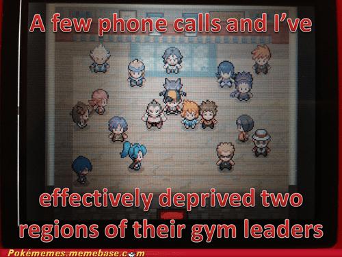 gym leaders gameplay phone calls - 7374152704