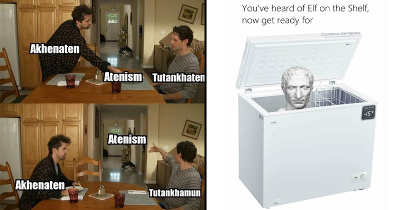 ancient history history ancient rome history memes Romans funny memes ancient egypt egypt brutus julius caesar egyptian im gonna stop you right there pharoahs pyramids greek mythology ancient greece - 7374341