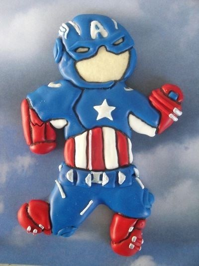 super heroes The Avengers nerdgasm cookies food - 7374894592