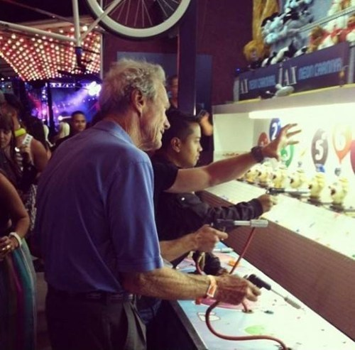 celeb,Clint Eastwood,Carnival