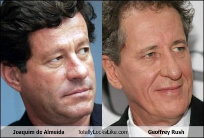 totally looks like joaquim de almeida Geoffrey Rush - 7375374592