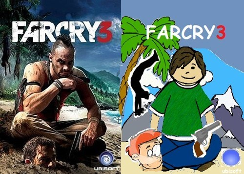 Animated cartoon - FARSRY FARCRY3 UBISOFT ubisoft