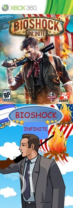 Movie - XBOX 360 BIOSHOCK INFINITE RP IaTiNL GAMES BIOSHOCK INFINITE