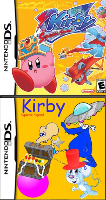 Cartoon - EVERYONE Nintendo Kirby Squeak Squad www.clipastol ooo NINTENDODS NINTENDODS
