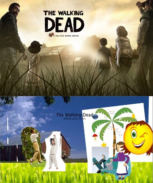 The Walking Dead,video games,box art