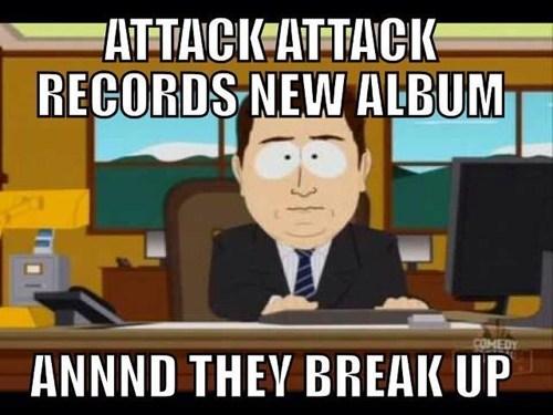 break ups South Park attack attack - 7375610112