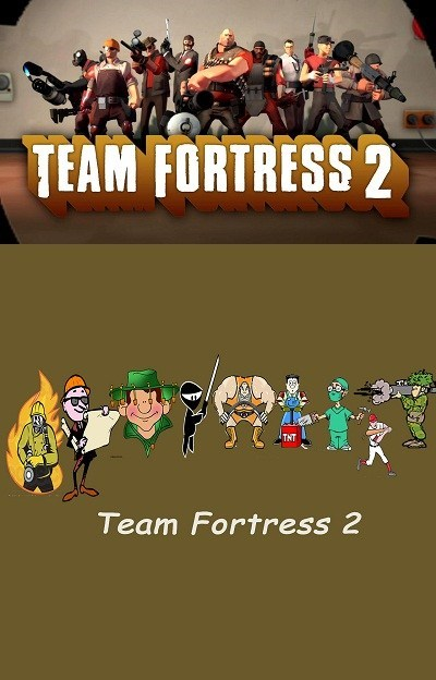Cartoon - TEAM FORTRESS 2 THT Team Fortress 2