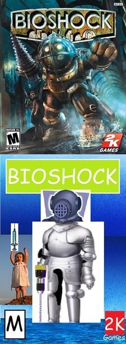 Fictional character - BIOSHOCK MATURE 13 GAMES BIOSHOCK М 2K Games