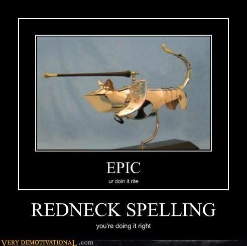 cat,redneck,armor,spelling