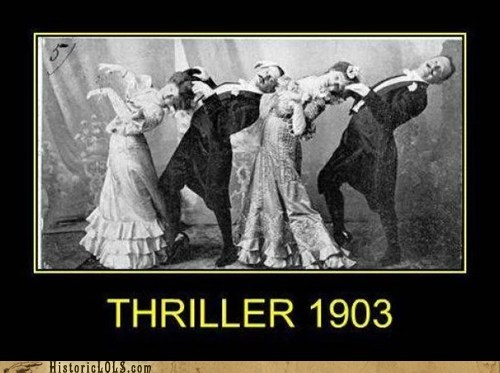 dancing michael jackson thriller - 7376345344