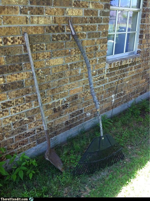 rake,yard work