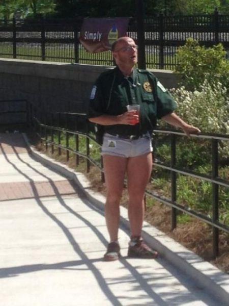 shorts park rangers daisy dukes - 7376517632