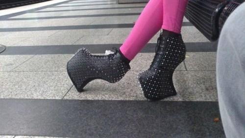 wtf spikes high heels - 7376526848