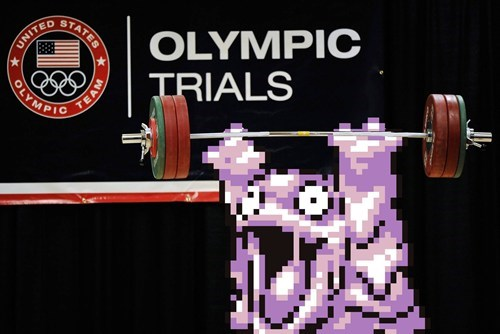 Weightlifting - STATES OLYMPIC TRIALS UNITED OLYMPIO TEAM