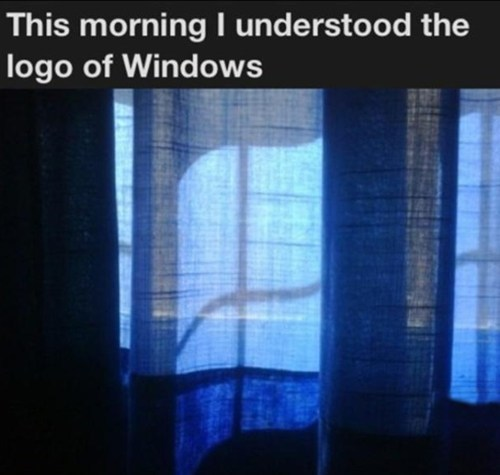 You Mean the Former Logo of Windows