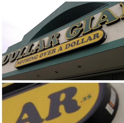 fine print dollar stores signs - 7376848128