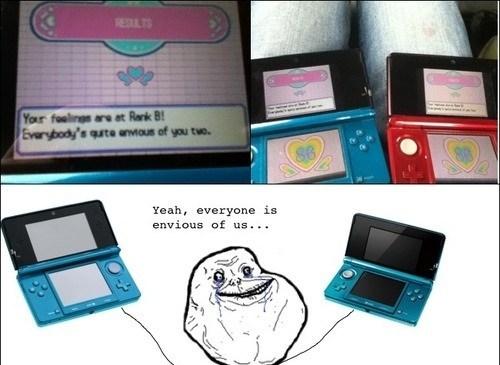 forever alone Pokémon 3DS feeling check - 7377068800