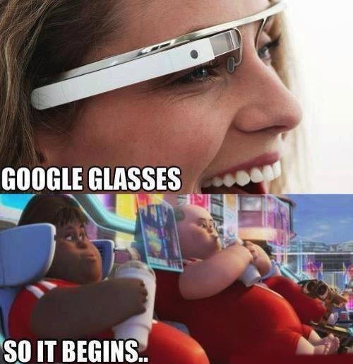murica wall.e google glass g rated AutocoWrecks america - 7377085440