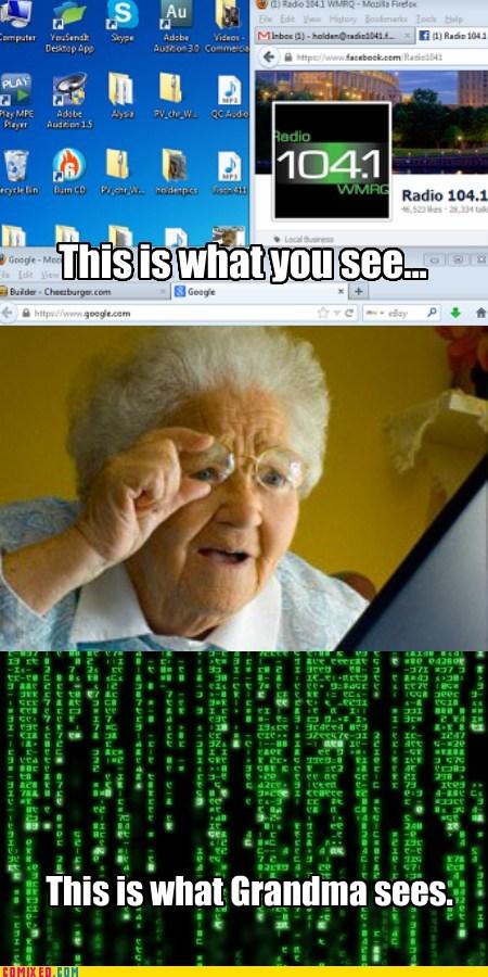 computers technology grandma - 7377214464