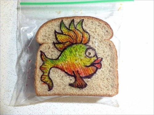 flickr,david laferriere,restoring2013,sandwich art,restoring faith in humanity week,lunch art