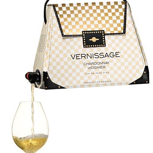 chardonnay purse wine - 7377313536
