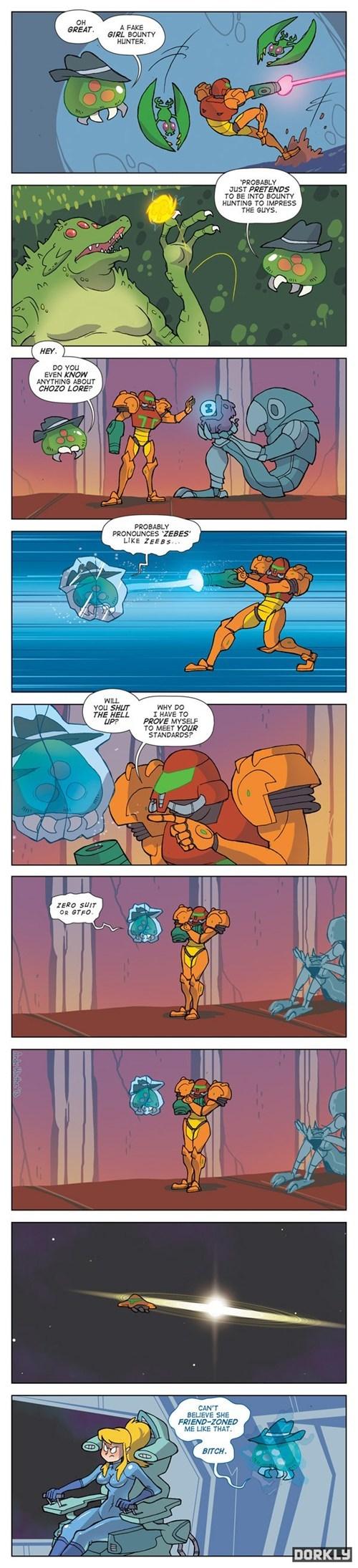 dorkly,Metroid,comics,samus aran