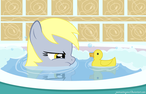 art derpy hooves rubber duckies cute - 7377470208
