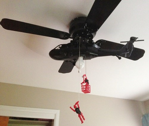 ceiling fan design helicopter - 7377531904