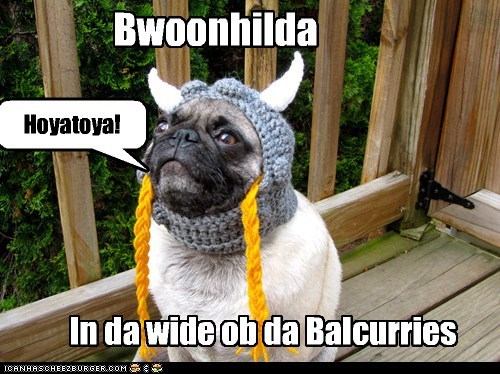 Bwoonhilda In da wide ob da Balcurries Hoyatoya!