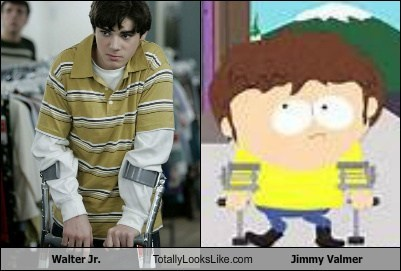 jimmy valmer,breaking bad,South Park,walter-jr,totally looks like