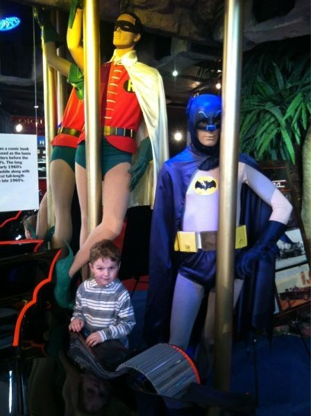 stripper pole Batman and Robin batman - 7377725696