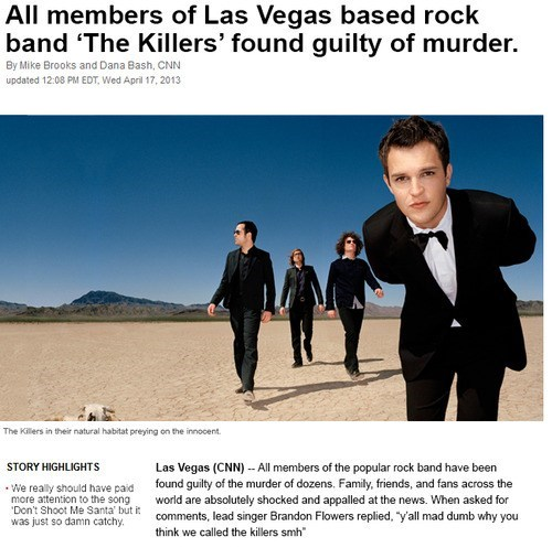 the killers,Brandon Flowers,las vegas