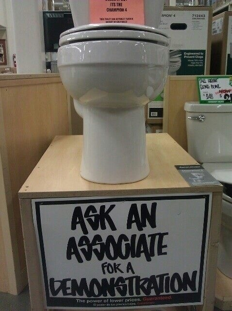 sign accidental gross home depot toilet fail nation g rated - 7377852928