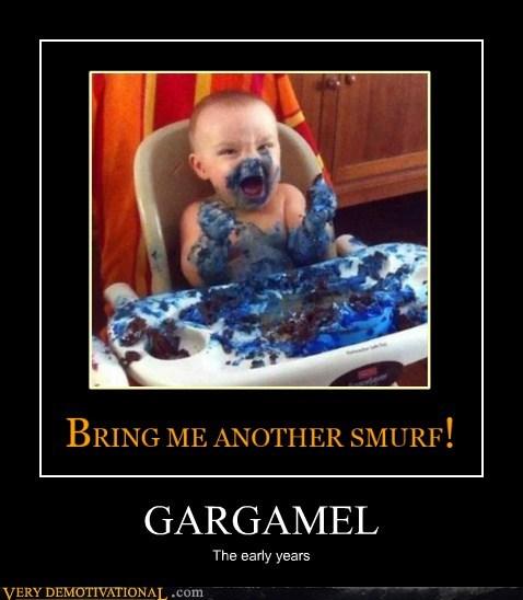 smurfs,gargamel,jerk