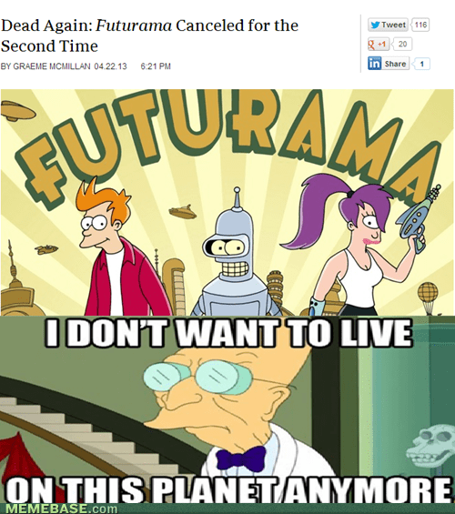 i dont want to live on this planet cartoons futurama - 7378744832