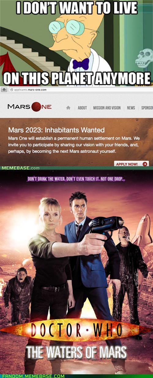 doctor who Mars - 7379014144
