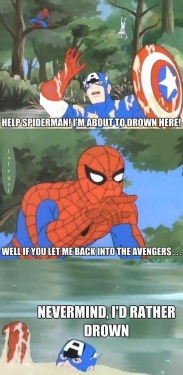 Spider-Man,captain america,avengers