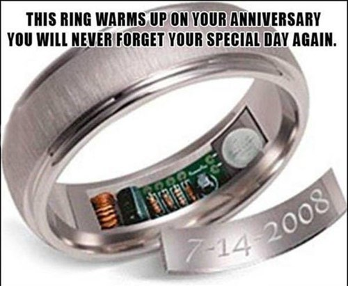 anniversary saved ring - 7379876352