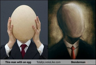 eggs totally looks like slenderman - 7379955712