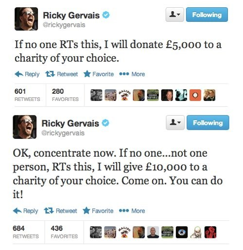 twitter ricky gervais - 7380307456