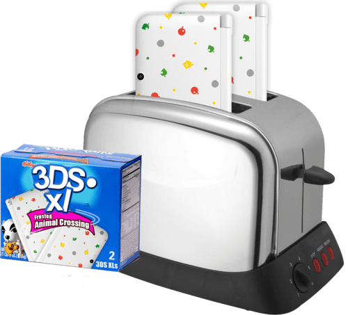 pop tarts,breakfast,3DS,animal crossing,nintendo