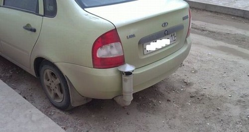 mods car repair exhaust pipes