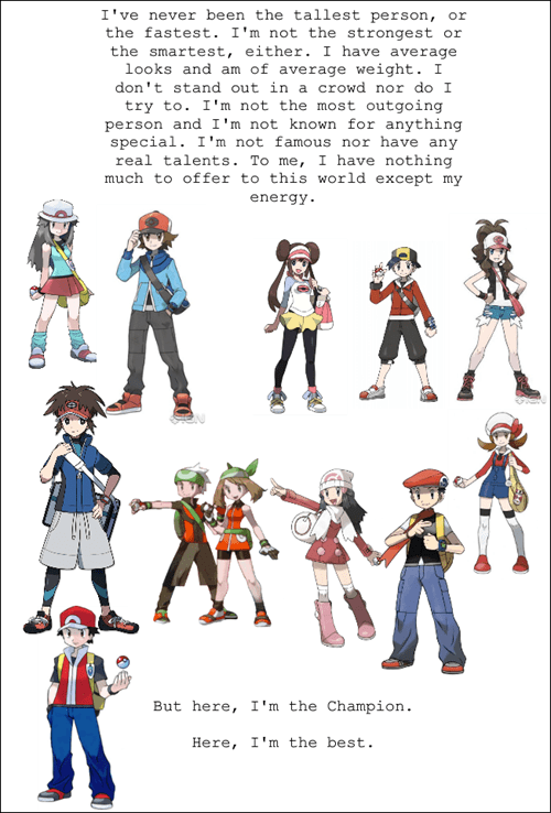 the very best,Pokémon,inspirational