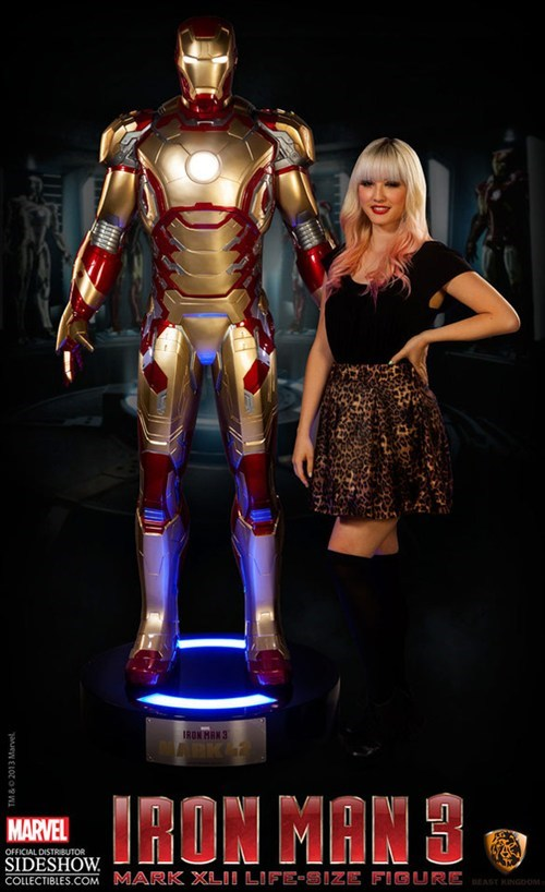 replica model nerdgasm iron man - 7380727040