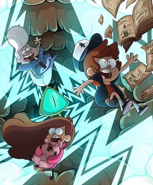 Fan Art gravity falls cartoons - 7380943616